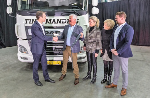 DAF CF Electric for Tinie Manders Transport