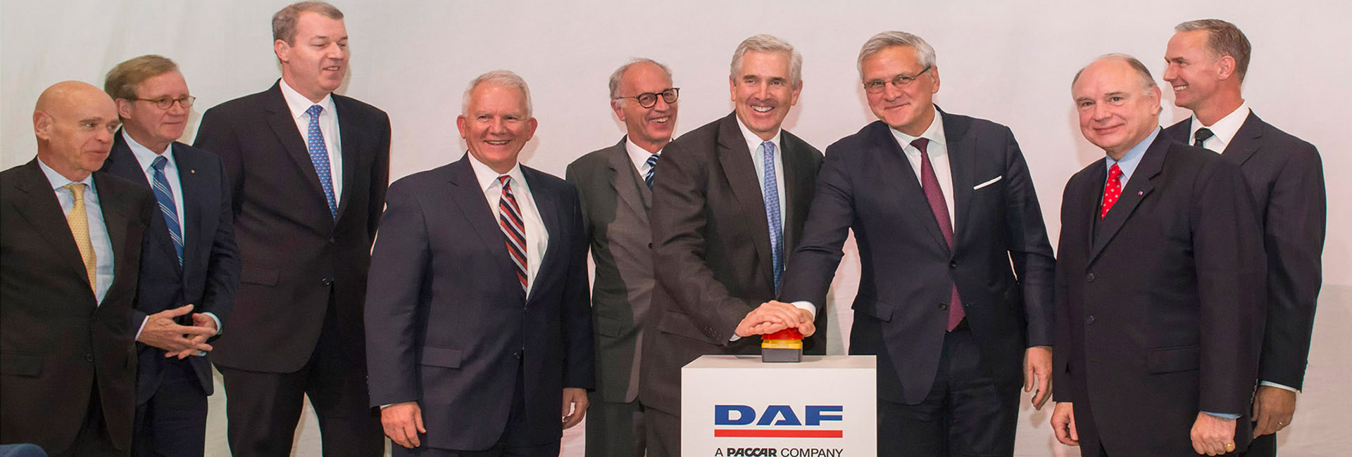 DAF Trucks New Cab Paint Facilities in Westelo Grand Opening